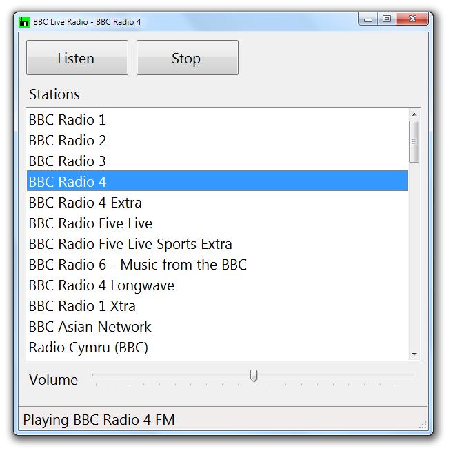 Accessible Radio