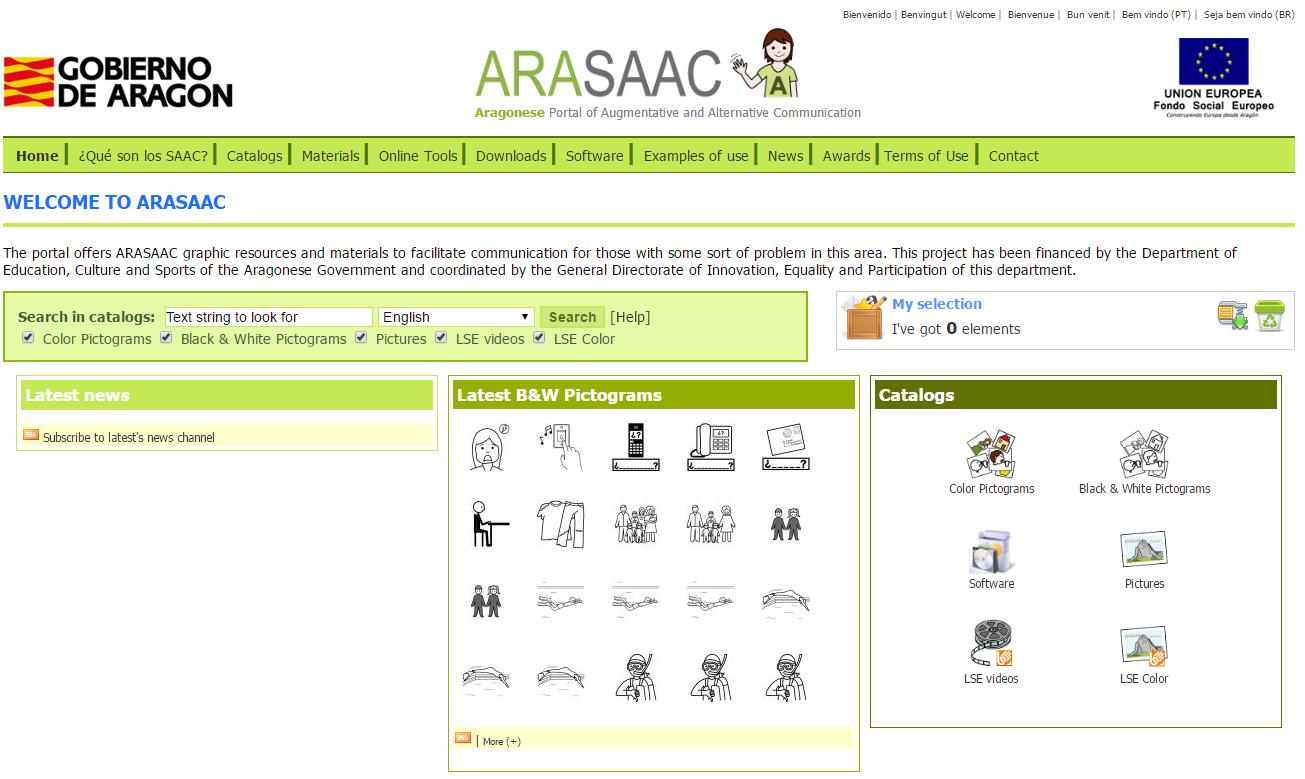 ARASAAC Pictograms